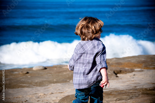 boy on beach 8