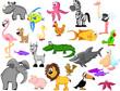 Постер, плакат: экстра большой сет животных