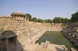 Sun Temple at Modhera. Ancient Hindu Temple. Gujarat, India. poster