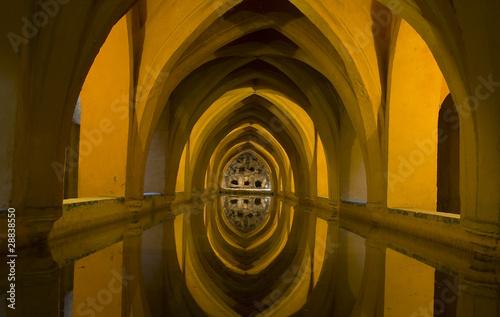 Sevilla ba os arabes de do a maria de asfloro imagen libre de derechos 28838550 en - Banos arabes sevilla 2x1 ...