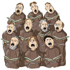 coro di frati