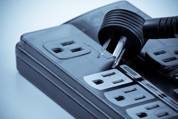 Unplugging Unused Appliances Concept Image