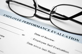 Employee performance evaluation poster