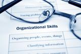 Organizational  skills poster