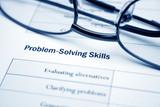 Problem solving skills poster