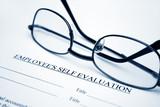 Employee self evaluation poster