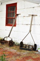 Amish farm tools
