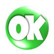 glänzender OK-Button