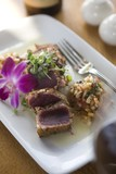 Seared Ahi Tuna with Microgreens