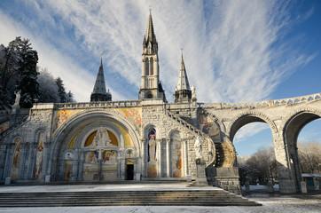 Promenade hivernale à Lourdes