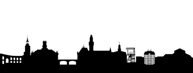 Saarbrücken Silhouette