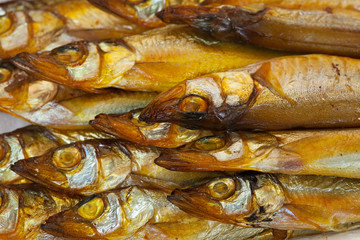 golden  smoke-dried  fish