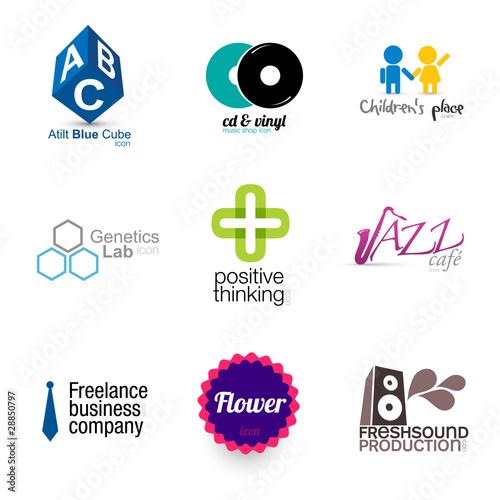 modern brand designs - set 1