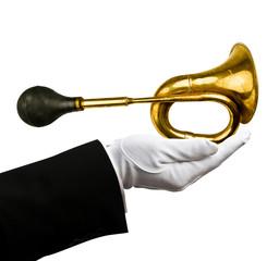 Holding horn