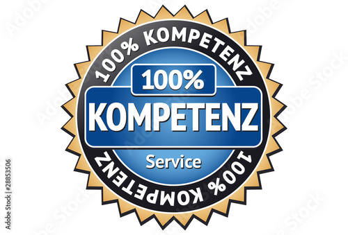 Kompetenz Siegel / Button