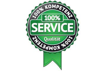 Service Qualitätssiegel