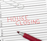 Calendar reminder, house closing