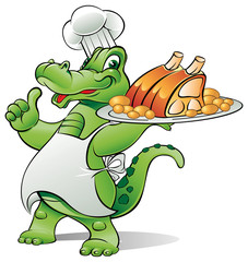 chef alligator