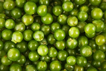 White grapes background