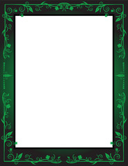Irish Themed Frame/Background Vector