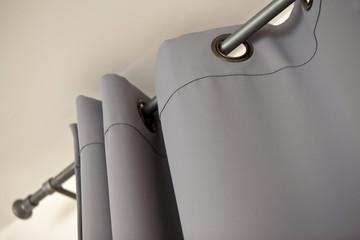Rideau déco intérieur confort tissu toile isolation immobilier