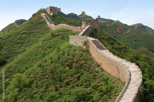 Foto op Plexiglas Chinese Muur Great Wall of China at Simatai