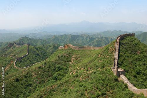 Fotobehang Chinese Muur Great Wall of China at Simatai