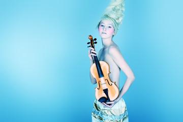 elegant violin