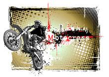 Motocross cadre