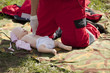 infant dummy first aid training