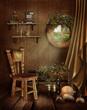 Pokój w chatce elfów