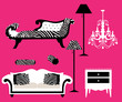 ZEBRA print FURNITURE and Decoration