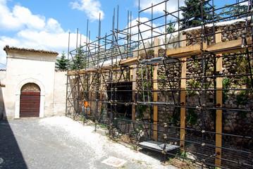 The earthquake in the city of L'Aquila - Abruzzo - Italy 018