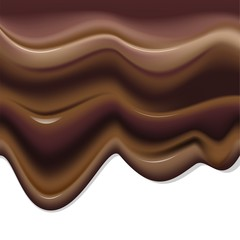 Cioccolato Fuso-Melted Chocolate-Vector