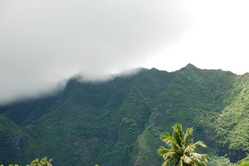 Nuage, Tropical, Polynésie, Bora, Brume, Brouillard,