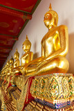 Fototapeta Buddyzm - statuetki - Inne Przedmioty
