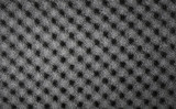 Closeup background of acoustic foam wall