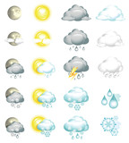 Fototapety Icons weather