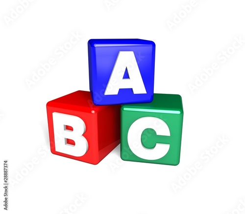 ABC Blocks 3d