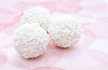 Coconut candy.
