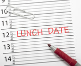 Calendar reminder, lunch date