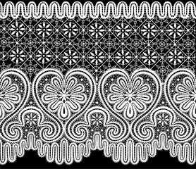 vector lace elements