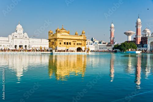 Golden Temple in Amritsar, Punjab, India. - 28896966