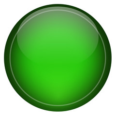 Green Icon Button