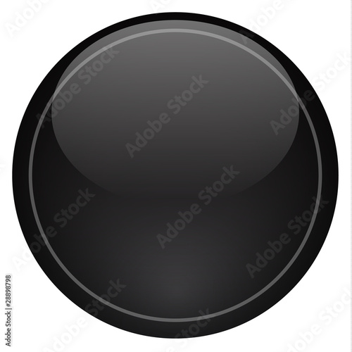 Black Icon Button