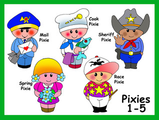 My Pixies 1-5