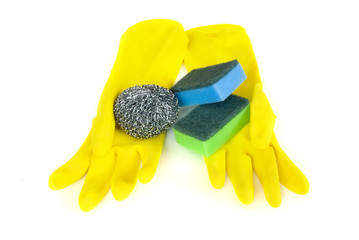 Kitchen sponges for cleaning utensil