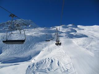 Winter resort Arosa Switzerland