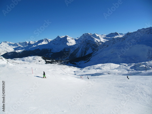 Ski Mountain Switzerland Arosa