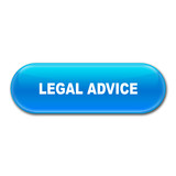 Boton alargado brillante texto LEGAL ADVICE poster